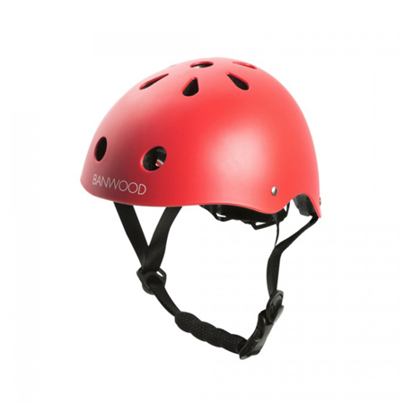 Immagine di BANWOOD® Casco per la bici Banwood  3/7 (50-54cm) Red