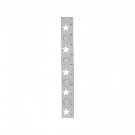 Immagine di Kids Concept® Metro misura altezza con cornici Star Grey