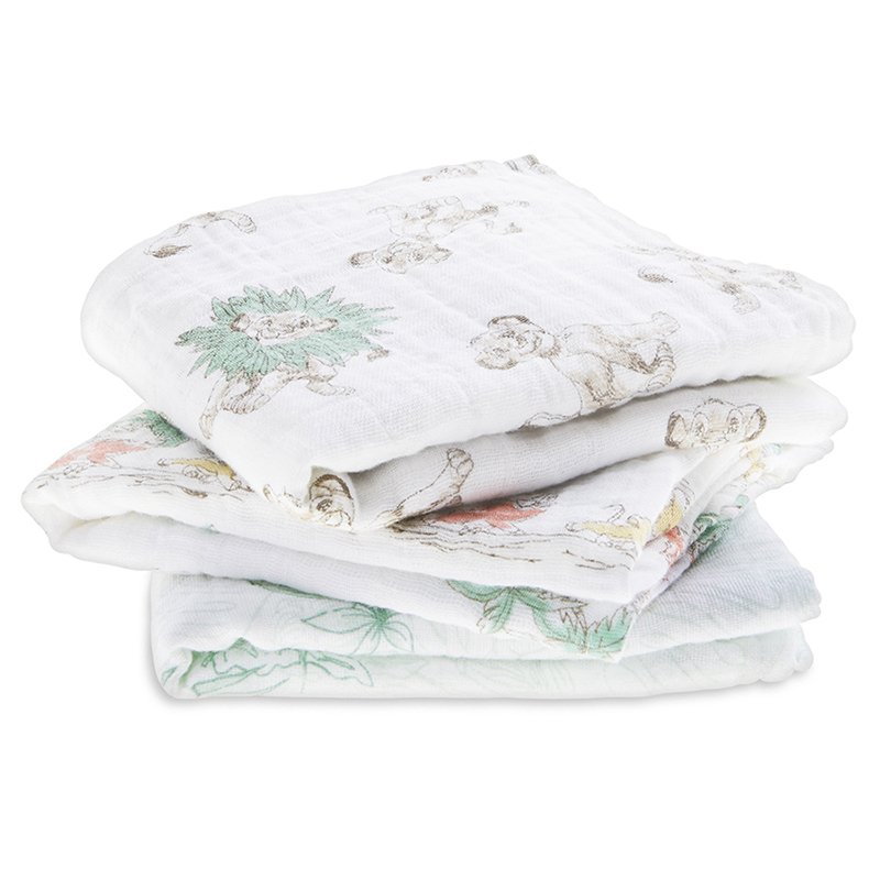Picture of Aden+Anais Muslin Squares 3-Pack - Disney's Lion King