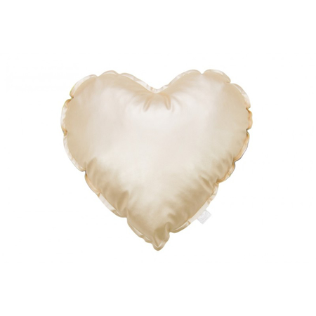 Picture of Cotton&Sweets® Decorative Heart Pillow - Gold
