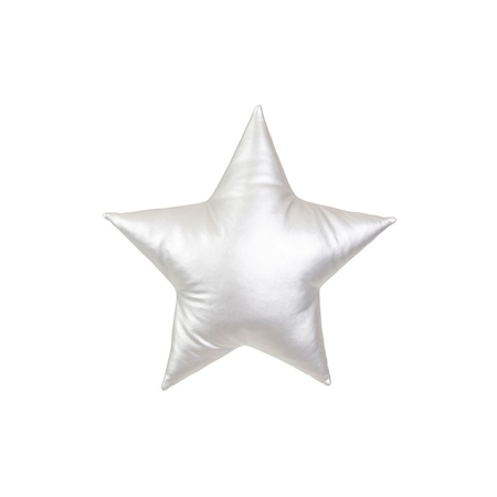 Picture of Cotton&Sweets® Decorative Star Pillow - Silver