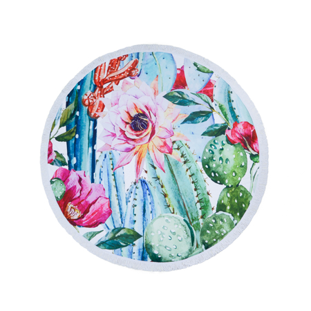 Picture of Olala Round Beach Towel - Paradise Express