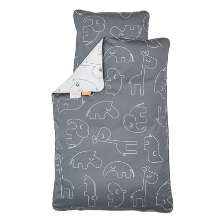 Immagine di Done by Deer® Lenzuola Sleepy Grey - 70×100; 40×45