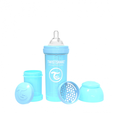 Picture of Twistshake Anti-Colic Bottle 260ml (2+M)