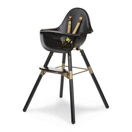 Picture of Childhome®  Evolu 2 High Chair - Black/Gold