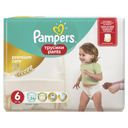 Immagine di Pampers® Pannolini la Mutandina Premium taglia 6 (15+ kg) 36 pz.