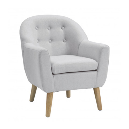 Picture of Kids Concept® Armchair Grey