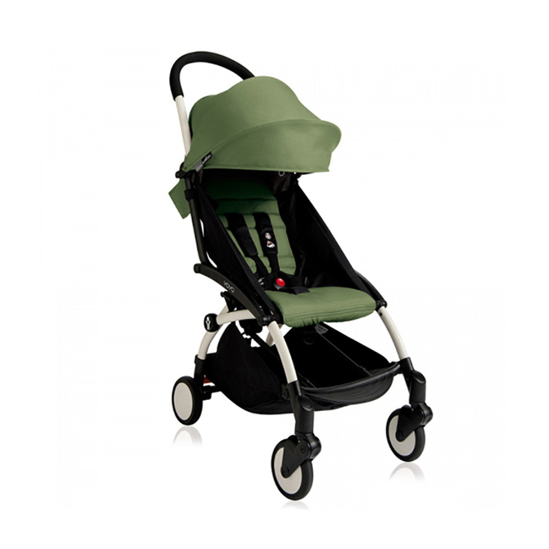 Picture of Babyzen® YOYO+ Baby Stroller 6+ Peppermint White Frame