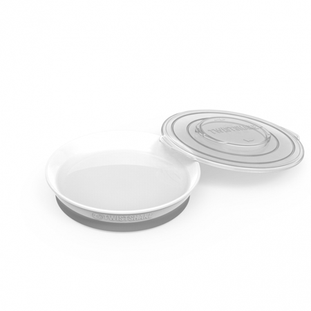Immagine di Twistshake® Piattino 430ml (6m+) - White