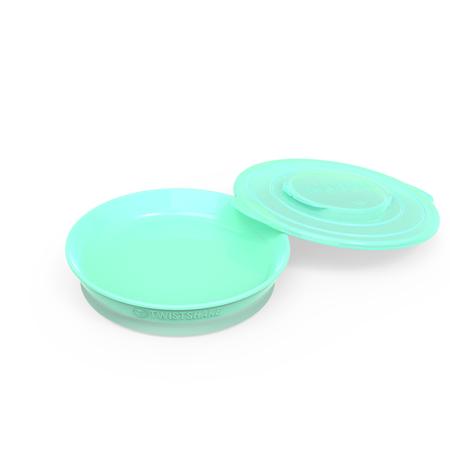Immagine di Twistshake® Piattino 430ml (6m+) - Verde Pastello