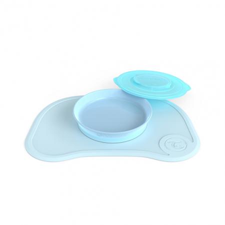 Immagine di Twistshake® Tovaglia piattino 430ml - Blu Pastello