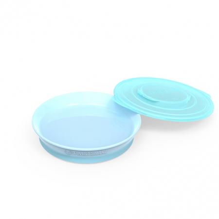 Immagine di Twistshake® Piattino 430ml (6m+) - Blu Pastello