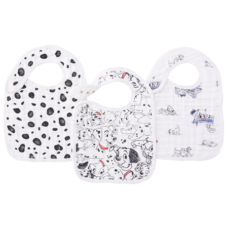 Picture of Aden+Anais Classic Snap Bib 3-Pack - Disney's 101 Dalmatians