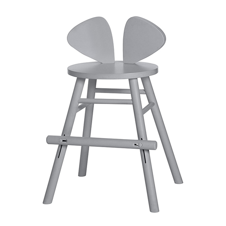Slika NoFred® Visoki stolček Mouse Grey 4-8let
