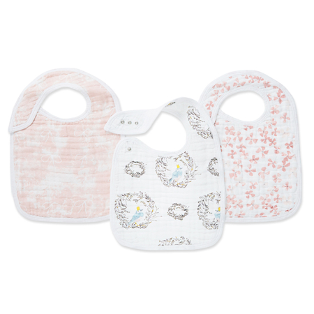 Picture of Aden+Anais Classic Snap Bib 3-Pack - Birdsong