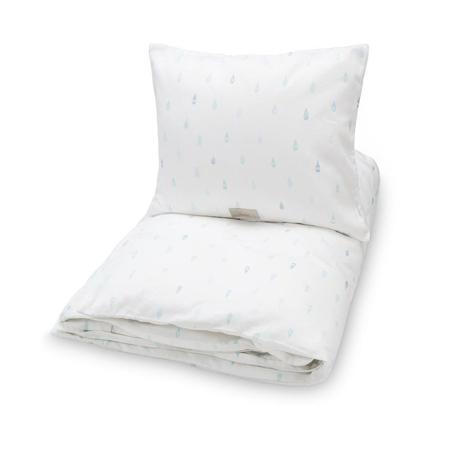 Immagine di CamCam® Otroška posteljnina Raindrops 70x100 in 100x140 - Junior 100x140, 45x40