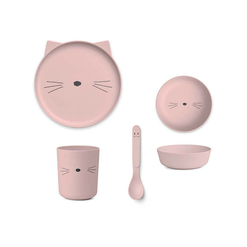 Immagine di Liewood® Set pappa bamboo cat Rose