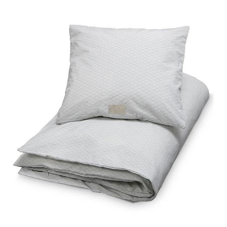 Immagine di CamCam® Biancheria da letto 2 dimensioni Grey Wave - Baby 70x100, 45x40