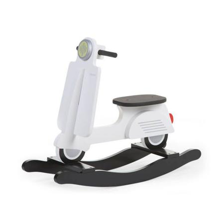 Immagine di Childhome® Rocking Scooter Bianco