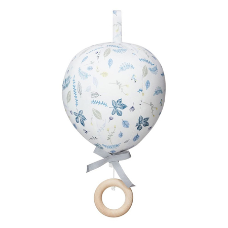 Immagine di CamCam® Giostrina musicale Balloon Pressed Leaves Blue