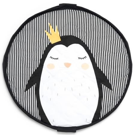 Immagine di Play&Go® Sacco portagiochi e tappeto 2 in 1 Pinguino