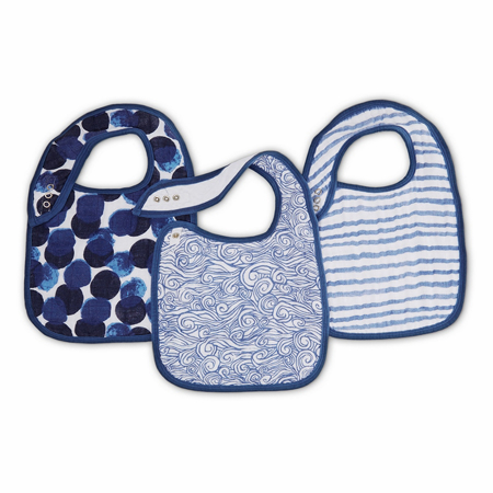 Picture of Aden+Anais® Classic Snap Bib 3-Pack Seafaring
