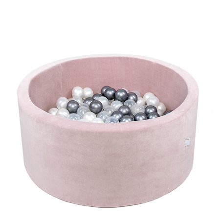 Immagine di Misioo® Piscina con palline Light Pink Velvet Collection