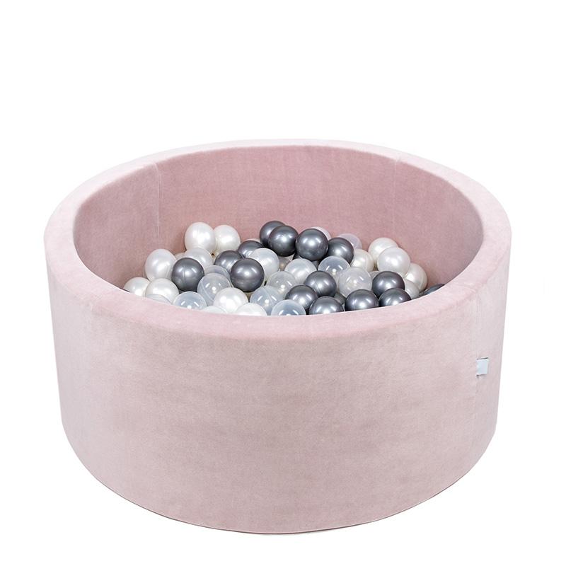Immagine di Misioo® Piscina con palline Light Pink Velvet Collection