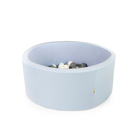 Immagine di Misioo® Piscina con palline Light Blue Basic Smart