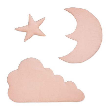 Picture of CamCam® Wall Decoration Moon, Cloud, Star - Blossom Pink