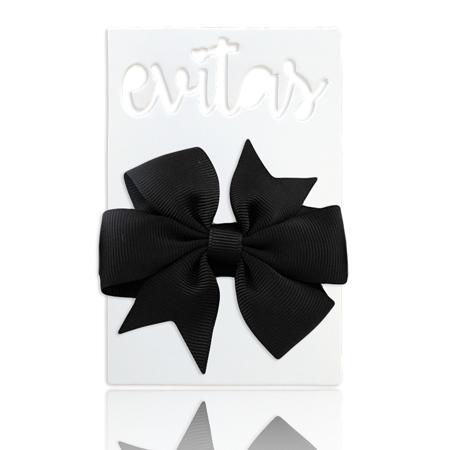 Immagine di Fascia elastica per capelli Fiocco Black