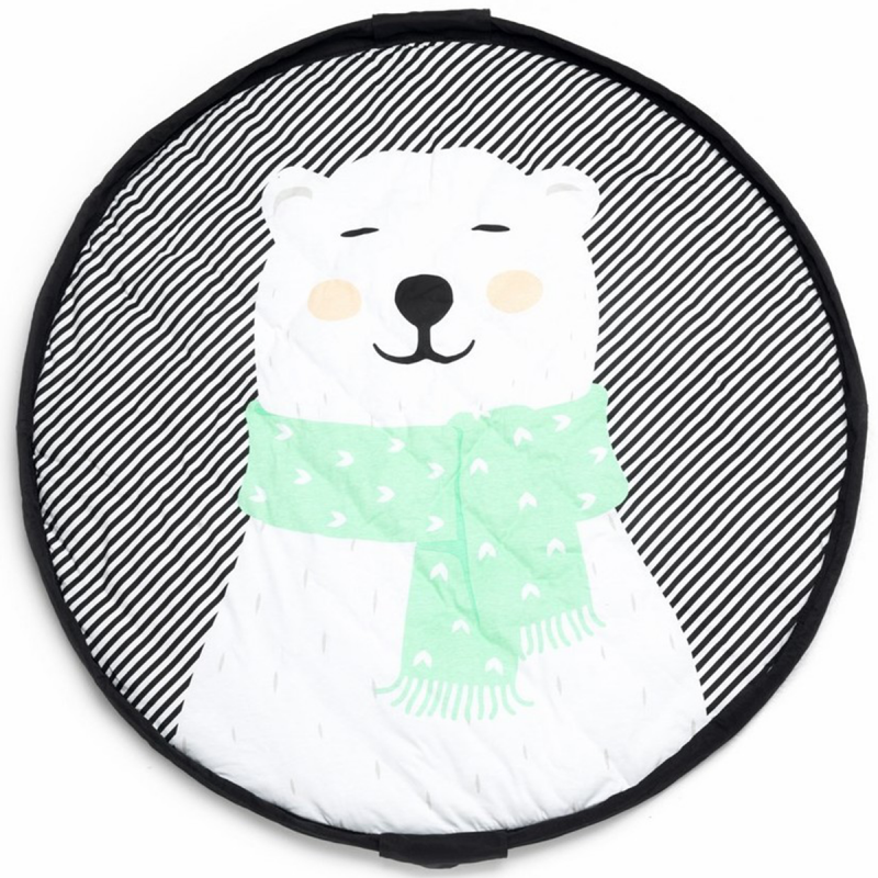 Immagine di Play&Go® Sacco portagiochi e tappeto 2 in 1 Polar Bear