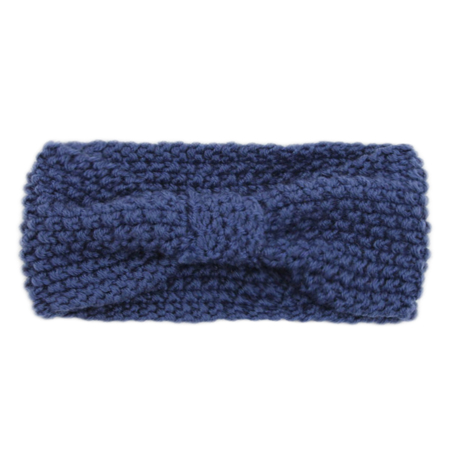 Picture of Knitted Headband Blue
