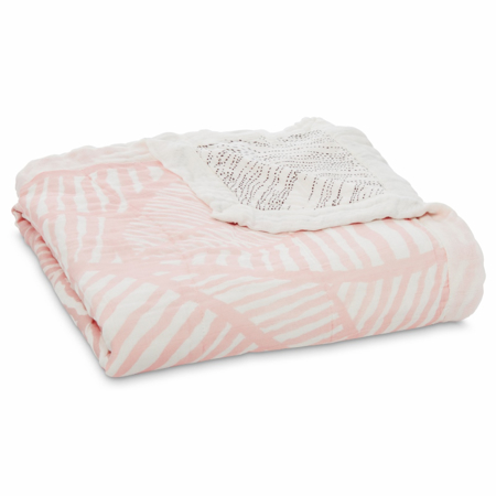 Picture of Aden+Anais Silky Soft Blanket - Island Getaway