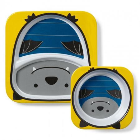 Immagine di Skip Hop® Set scodella e piattino Pipistrello