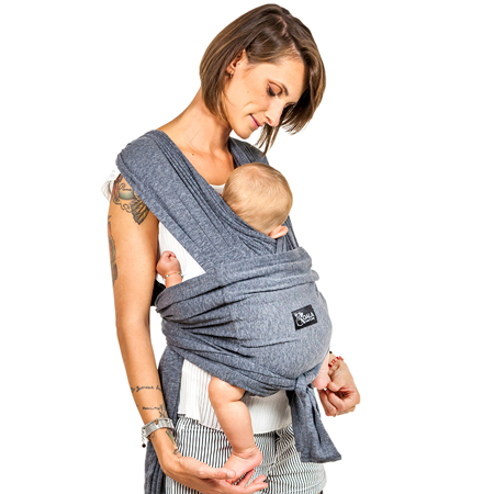 Picture of Koala Babycare® Baby Wrap Dark Grey
