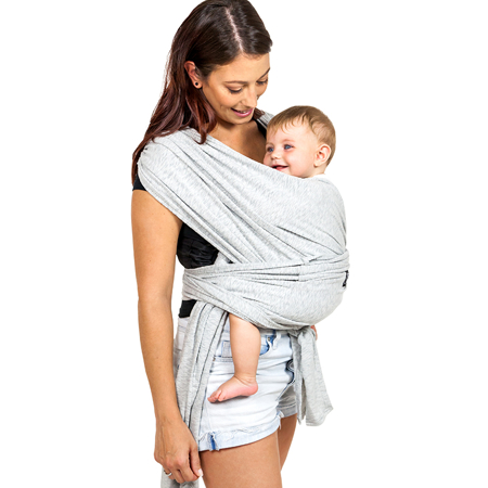 Picture of Koala Babycare® Baby Wrap Light Grey