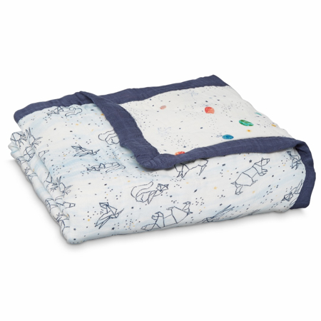Picture of Aden+Anais Silky Soft Blanket - Stargaze