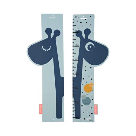 Immagine di Done by Deer® Metro misura altezza Reversibile Raffi Blue
