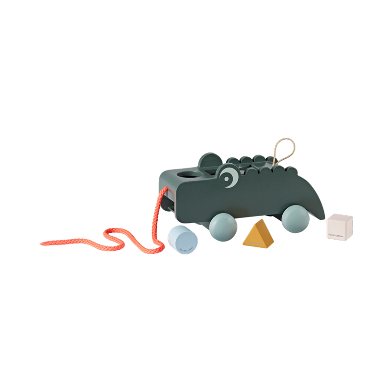 Immagine di Done by Deer® Gioco multisensoriale su ruote Croco