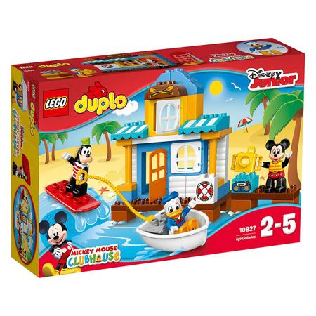 Lego® Duplo Miki in prijatelji Hišica na plaži