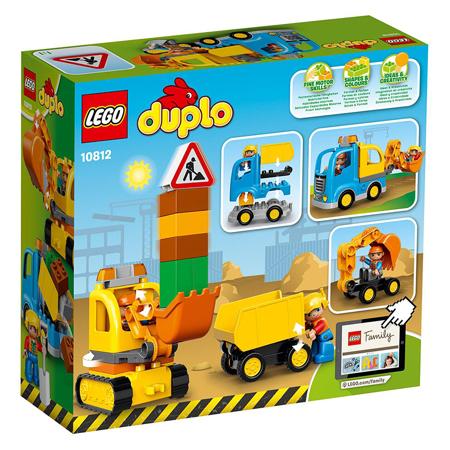 Immagine di Lego® Duplo Camion e scavatrice cingolata