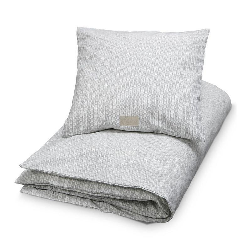 CamCam® Otroška posteljnina Grey Wave 70x100 in 100x140