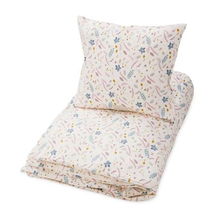 Immagine di CamCam® Biancheria da letto Pressed Leaves Rose - Baby 70x100, 45x40