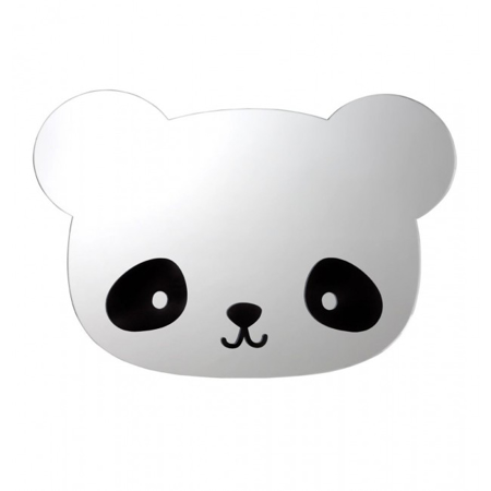 Picture of A Little Lovely Company Mirror - Panda