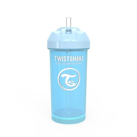 Immagine di Twistshake® Borraccia con cannuccia 360ml (12+ m) - Blu Pastello