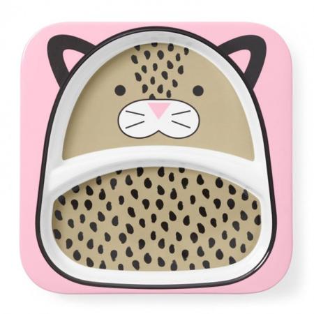 Immagine di Skip Hop® Piatto a suzione separata Leopardo