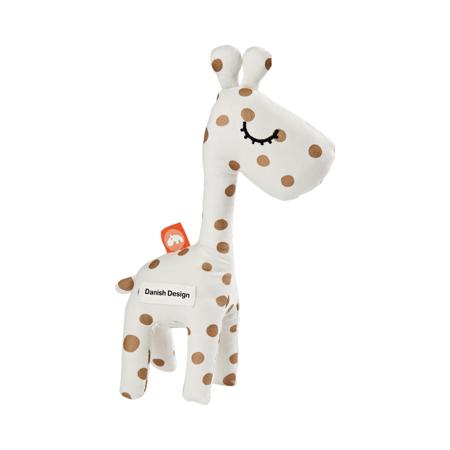 Slika Done by Deer® Aktivnostna ropotuljica žirafa Raffi Gold Dots