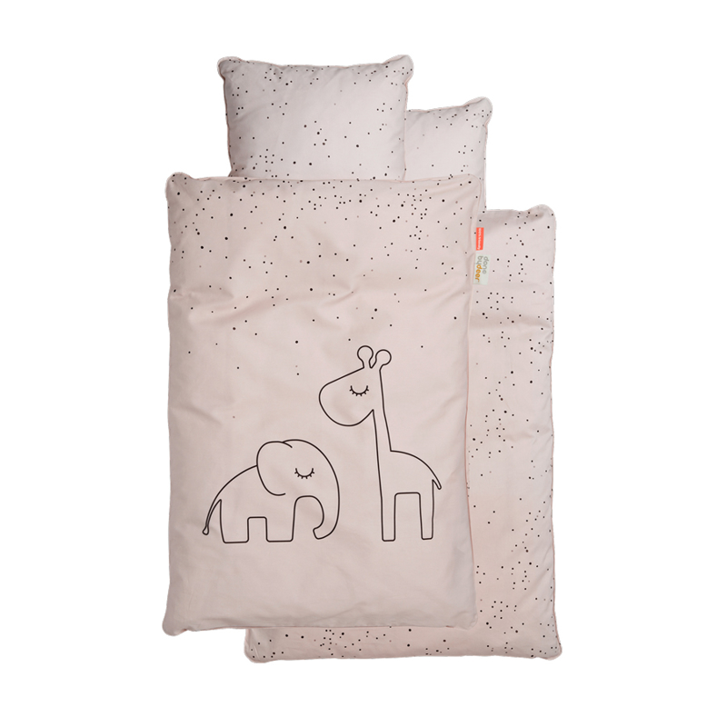Picture of Done by Deer® Dreamy Dots Bedlinen Powder (70x100)
