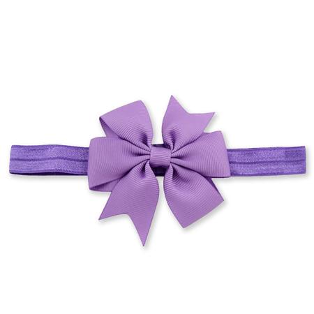 Immagine di Fascia elastica per capelli Fiocco Purple